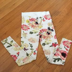 New Chaser floral printed leggings/loungers med